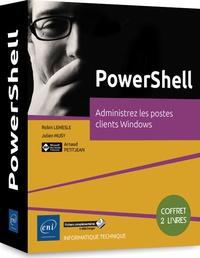 Alixetmika.fr PowerShell - Administrez les postes clients Windows - Coffret en 2 volumes : PowerShell Core et Windows PowerShell - Les fondamentaux du langage ; Windows PowerShell - Administration de postes clients Windows Image