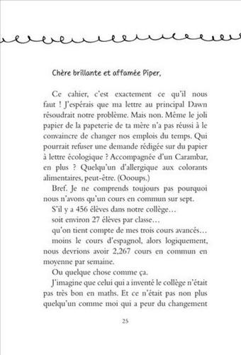 Un journal pour deux Tome 1 Au secours, le collège !