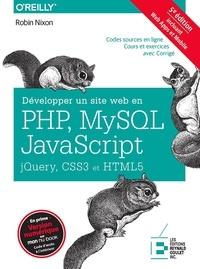 Cjtaboo.be Développer un site web en PHP, MySQL et JavaScript, jQuery, CSS3 et HTML5 Image