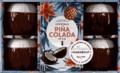 Robin Poujade - Coffret Pina colada et Cie - Contient : 4 verres en céramique, 1 livre de recettes.