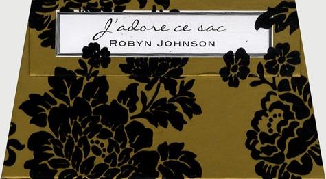 Robyn Johnson - J'adore ce sac.