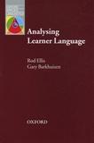Rod Ellis et Gary Barkhuizen - Analysing Learner Language.