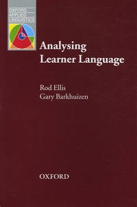 Rod Ellis et Gary Barkhuizen - Analysing Learner Language.