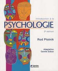 Rod Plotnik - Introduction à la psychologie.