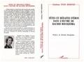 Rodinis Toso - Fêtes et défaites d'Eros dans l'oeuvre de Rachid Boudjedra.
