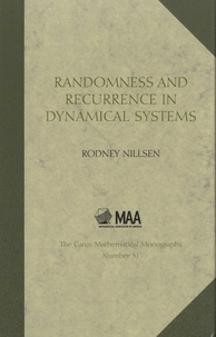 Rodney Nillsen - Randomness and Recurrence in Dynamical Systems - A Real Analysis Approach.