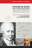Rodolphe Baudin et Wladimir Berelowitch - Histoire de Russie, avec sa partie politique, par Mr Koch, Professeur à Strasbourg - Suivie de  la Constitution de l'empire de Russie.