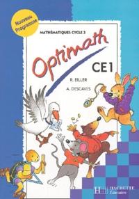 Rodolphe Brini et Alain Descaves - Optimath CE1 - Nouveau programme.