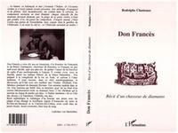 Rodolphe Clauteaux - Don frances - recit d'un chasseur de diamants.