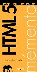 Rodolphe Rimelé - HTML 5.