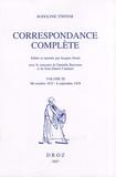 Rodolphe Töpffer - Correspondance complète - Volume 3, Mi-octobre 1832 - 8 septembre 1838.