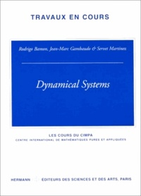 Rodrigo Bamon et Jean-Marc Gambaudo - Dynamical systems.