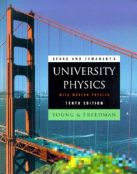 Histoiresdenlire.be University Physics with Modern Physics. 10th edition Image