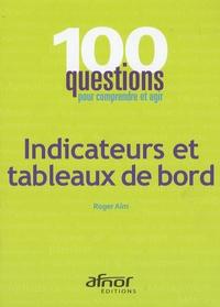 Roger Aïm - Indicateurs et tableaux de bord.