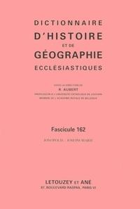 Roger Aubert - Dictionnaire d'histoire et de géographie ecclésiastiques - Fascicule 162, Jonopolis - Joseph-Marie.