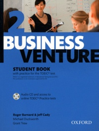 Roger Barnard et Michael Duckworth - Business Venture 2 - Student Book. 1 CD audio