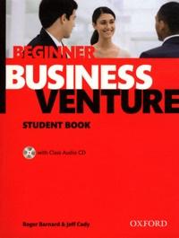 Deedr.fr Business Venture THIRD EDITION 2011 Beginner Student's Book Pack - Beginner student book Image