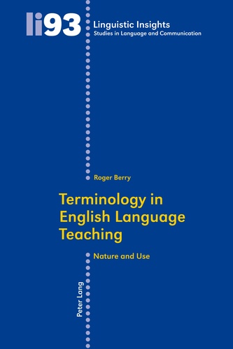 Roger Berry - Terminology in English Language Teaching - Nature and Use.