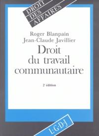 Roger Blanpain et Jean-Claude Javillier - .