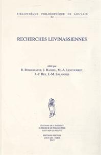 Recherches levinassiennes.pdf