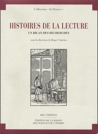 Roger Chartier - Histoires de la lecture - un bilan des recherches.