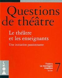 Roger Deldime - Le théâtre et les enseignants.