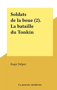 Roger Delpey - Soldats de la boue (2). La bataille du Tonkin.