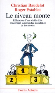 Roger Establet et Christian Baudelot - .