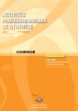Roger Granier - Activités professionnelles de synthèse APS du BTS CGO 1 - Corrigé.