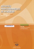 Roger Granier - Activités professionnelles de synthèse APS du BTS CGO 1 - Enoncé.