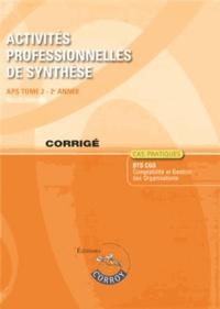 Goodtastepolice.fr Activités professionnelles de synthèse APS du BTS CGO 2 - Corrigé Image