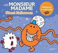 Roger Hargreaves et Adam Hargreaves - Les Monsieur Madame fêtent Halloween - Histoire à colorier.