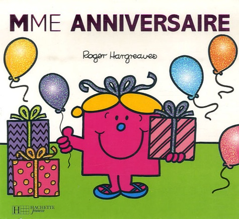 Roger Hargreaves - Mme Anniversaire.