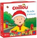Roger Harvey - Caillou, ma boîte à histoires - Coffret en 6 volumes : Caillou promène son chien ; Caillou à vélo ; Caillou prend l'avion ; Caillou se déguise ; Caillou, La cachette ; Caillou observe les oiseaux.