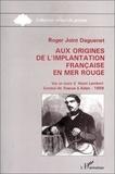 Roger Joint-Daguenet - Aux origines de l'implantation française en Mer Rouge : Vie et mort d'Henri Lambert.