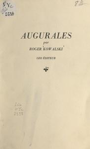 Roger Kowalski - Augurales.