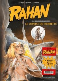 Roger Lécureux et Jean-François Lécureux - Rahan  : Pack 2 volumes - Tome 7, Le combat de Pierrette ; Tome 8, Le trésor de Bélesta.