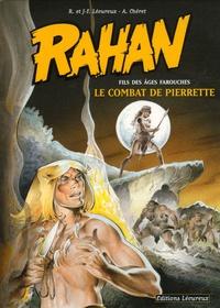 Roger Lécureux et Jean-François Lécureux - Rahan Tome 7 : Le combat de Pierrette.