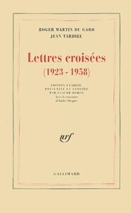 Roger Martin du Gard et Jean Tardieu - Lettres croisées (1923-1958).