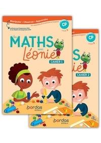 Roger Mongibeaux et Nadège Pistre - Les maths avec Léonie CP cycle 2 - 2 volumes : Fichiers 1 & 2.