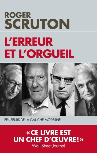 l'Erreur et l'orgueil - Roger Scruton - Format ePub - 9782810008957 - 11,99 €