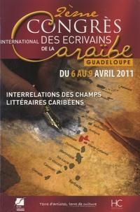 Roger Toumson - Actes du IIe Congrès international de l'Association des écrivains de la Caraïbe, Guadeloupe - Interrelations des champs littéraire caribéens.