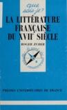 Roger Zuber et Paul Angoulvent - La littérature française du XVIIe siècle.