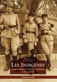 Roland André - Les Indigènes - Armée d'Afrique et troupes coloniales à pied en 1914.