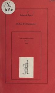Roland Bacri - Refus d'obtempérer.