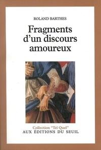 Pdf ebooks pour mobiles téléchargement gratuit Fragments d'un discours amoureux 9782020046053
