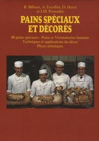 Pains spéciaux et décorés - Volume 1, 40 pains spéciaux, pains et viennoiseries fantaisie, techniques et applications du décor, pièces artistiques.pdf
