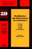 Roland Borghi et Paul Clavin - Modélisation des phénomènes de combustion.