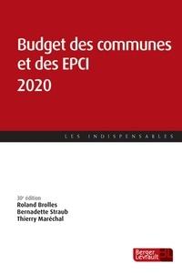 Roland Brolles et Bernadette Straub - Budget des communes et des EPCI.