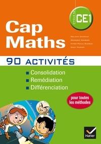 Roland Charnay et Georges Combier - Cap Maths CE1 - 90 activités pour l'entraînement, la consolidation et la différenciation en mathématiques.